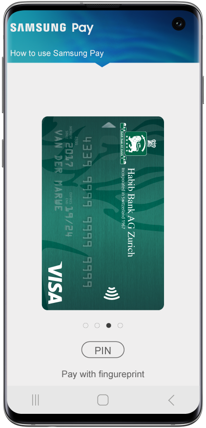 HBZ Card - Samsung Pay